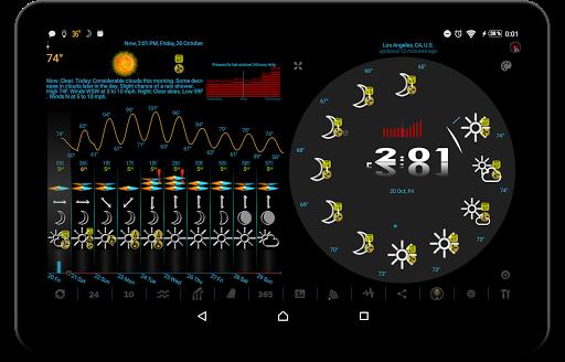 Weather app & widget with barometer: eWeather HDF  Screenshots 21