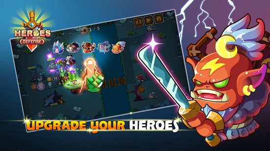 Heroes Defender Premium - Epic Tower Defense 1.1 APK + Mod (Unlimited money) for Android