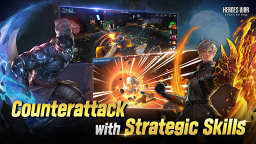 Heroes War: Counterattack apkpoly screenshots 3