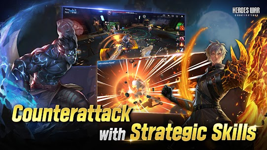 Heroes War: Counterattack MOD Apk 1.8.0 (Unlimited Money) 3