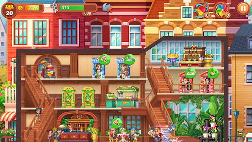 Hotel Fever: Grand Hotel Tycoon Story  screenshots 2