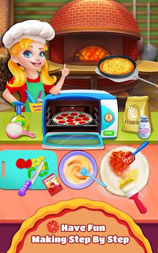 sweet pizza shop - cooking fun screenshot 1
