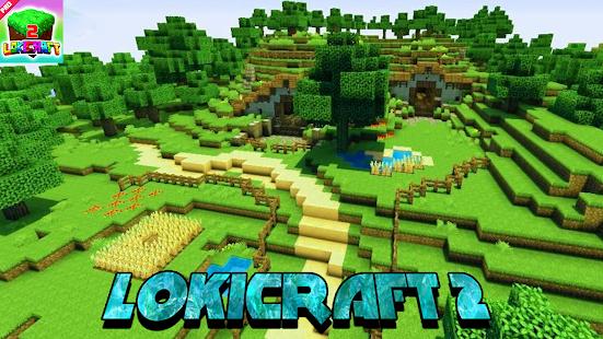 Lokicraft - Building And Crafting 2021 1.1 Screenshots 4