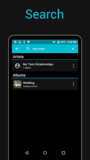 rocket music player screenshot 2