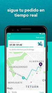 Deliveroo - Comida a Domicilio Screenshot