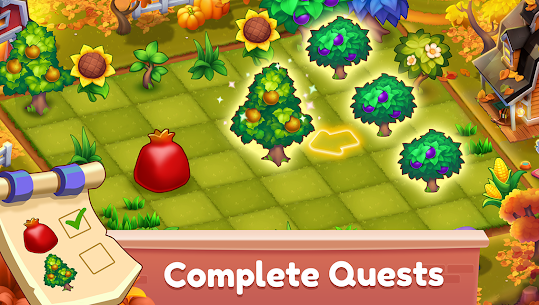 Mingle Farm – Merge and Match Game Apk Mod + OBB/Data for Android. 3