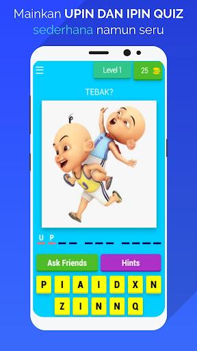 Upin & Ipin Quiz apktram screenshots 1