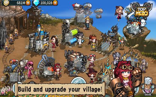 Top Hero - Tower Defense  screenshots 10