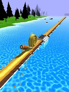 Spiral Roll Mod Apk (Shield Activated + Unlimited Money) 9