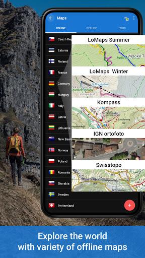 Locus Map 4: Hiking&Biking GPS navigation and Maps 4.2.1 screenshots 1