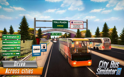 Euro Bus Driver Simulator 3D: City Coach Bus Games 2.1 Screenshots 8