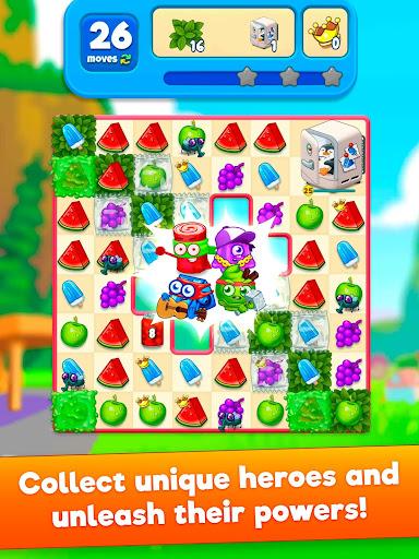 ud83cudf52Sugar Heroes - World match 3 game! Apkfinish screenshots 7