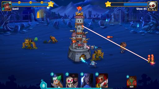 Spooky Wars - Battle Castle Defense Strategy Game SW-00.00.58 Screenshots 5