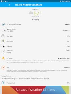 Weather data & microclimate : Weather Underground 18