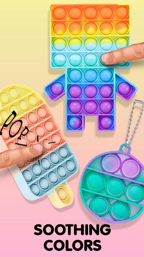 Pop It Sensory Fidget cube toys 3d Anxiety Relief  screenshots 7