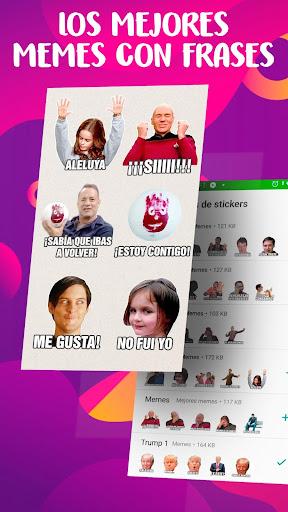 Memes con Frases Stickers en espau00f1ol para WhatsApp  Screenshots 1
