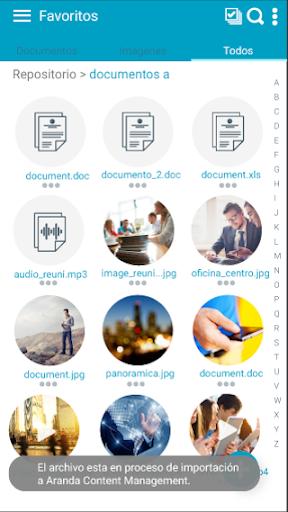 arandaemm content management screenshot 3