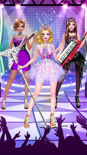 ud83cudf99ufe0fud83dudc67Music Girl Makeup Salon - Rock Star Dress Up  screenshots 4