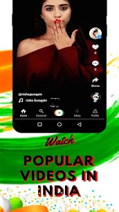 Snake Video – Moj Masti josh App Made In India 2