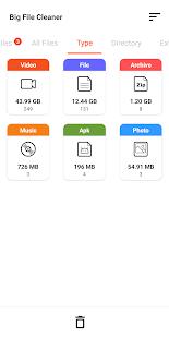 Big File Cleaner