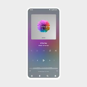 Aurora – Material Poweramp v3 Skin MOD (Paid) 4
