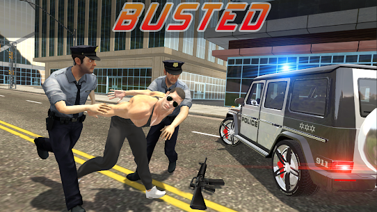Police vs Gangsters 4×4 Offroad Mod Apk 1.1.1 (Endless Money) 2