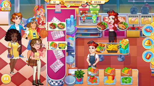 Cooking Life: Crazy Chef's Kitchen Diary apkpoly screenshots 1
