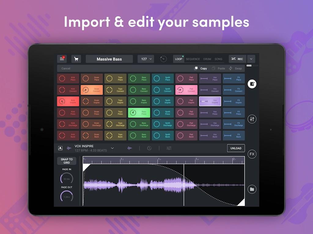 Remixlive - Make Music & Beats  poster 8