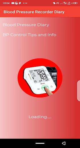 Blood pressure Tracker & bp diary 1.10 Screenshots 1