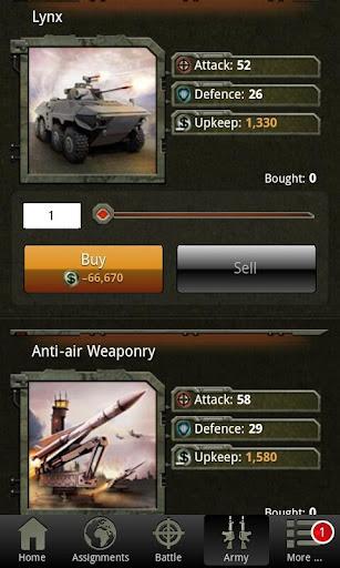 War Game - Combat Strategy Online  Screenshots 9