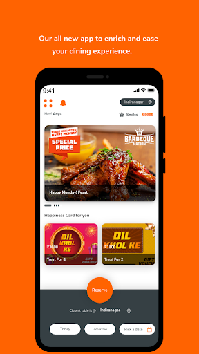 Barbeque Nation - Best Casual Dining Restaurant 3.12 Screenshots 1