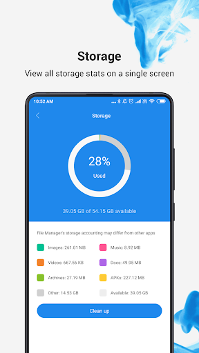 Es File Explorer - File Manager Android 2020 3.5.5 screenshots 1