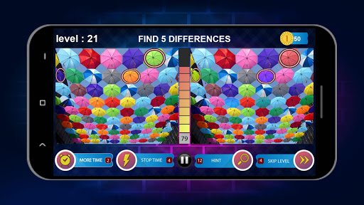 Spot 5 Differences 1000 levels 1.6.8 screenshots 6