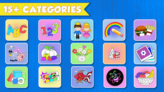 - Kids Coloring Book - Free 250+ Kids Coloring Pages - Apps En Google Play