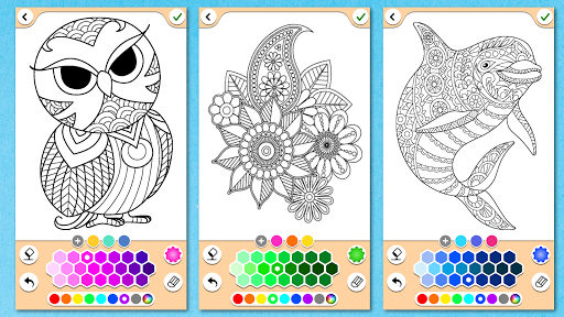 Mandala Coloring Pages  screenshots 6
