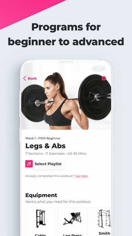 SWEAT: Fitness App For Women  poster 4