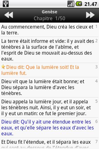 La Sainte Bible, Louis Segond 1.4 Screenshots 3