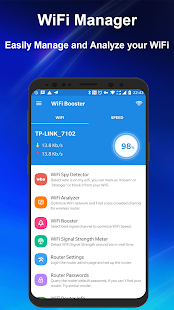 WiFi Manager - WiFi Network Analyzer & Speed Test Screenshot