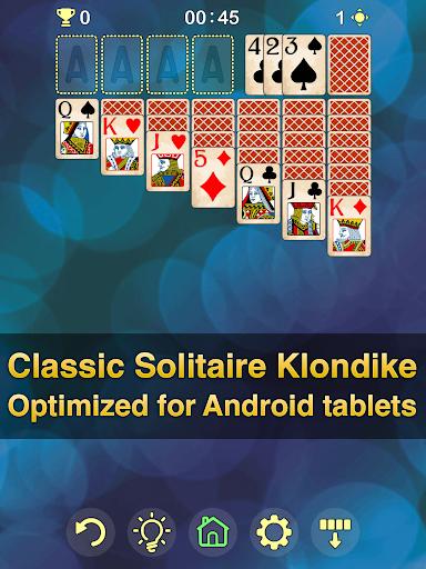 Solitaire Klondike - classic offline card game Apkfinish screenshots 10