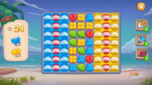 Ohana Island - Design Flower Shop & Blast Puzzle apkslow screenshots 8