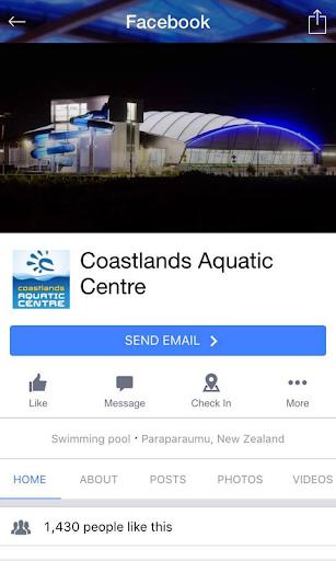 coastlands aquatic centre screenshot 3