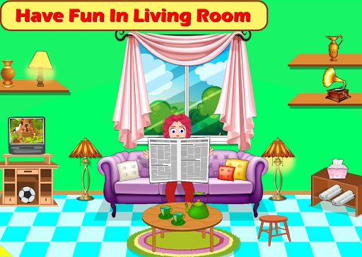 Kids Mini Home Family Life - My Toys House Town Apkfinish screenshots 5