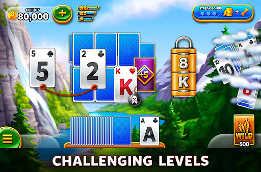 Solitaire Grand Harvest - Free Tripeaks Solitaire 1.79.0 screenshots 2