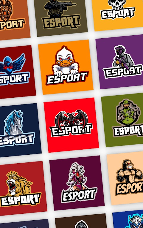 Esport Logo Maker - Create Free Gaming Logo Mascot  poster 10