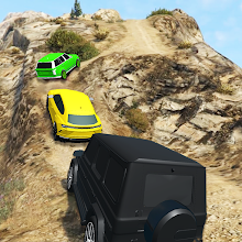 Offroad SUV Jeep Driving Racing Car Games 2021 icon
