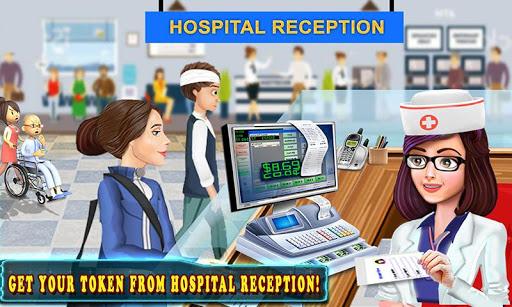 Télécharger Hôpital caisse enregistreuse caissier Jeux filles APK MOD 2
