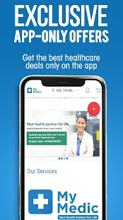 MyMedic Doctor Consultation, Affordable Diagnostic Screenshot