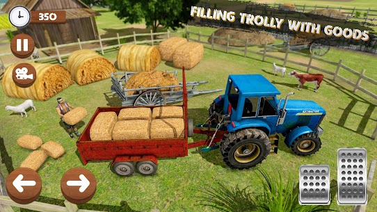 Real Tractor Farming Game 2020 Apk 4