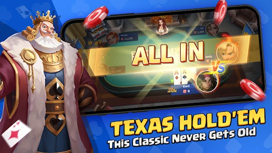 Poker Glory – Free Texas Hold' em Online Card Games Apk Download NEW 2021 1