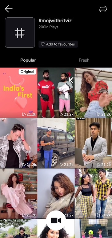 Moj - Snack on Indian Short Videos   Made in India poster 7